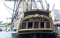 HMS Bounty's stern