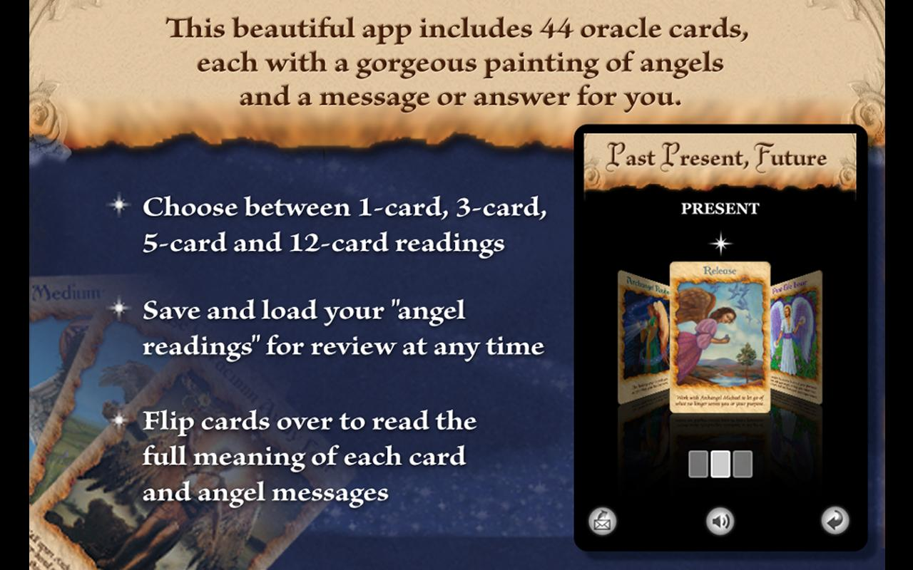 Angel Therapy Oracle Cards - screenshot