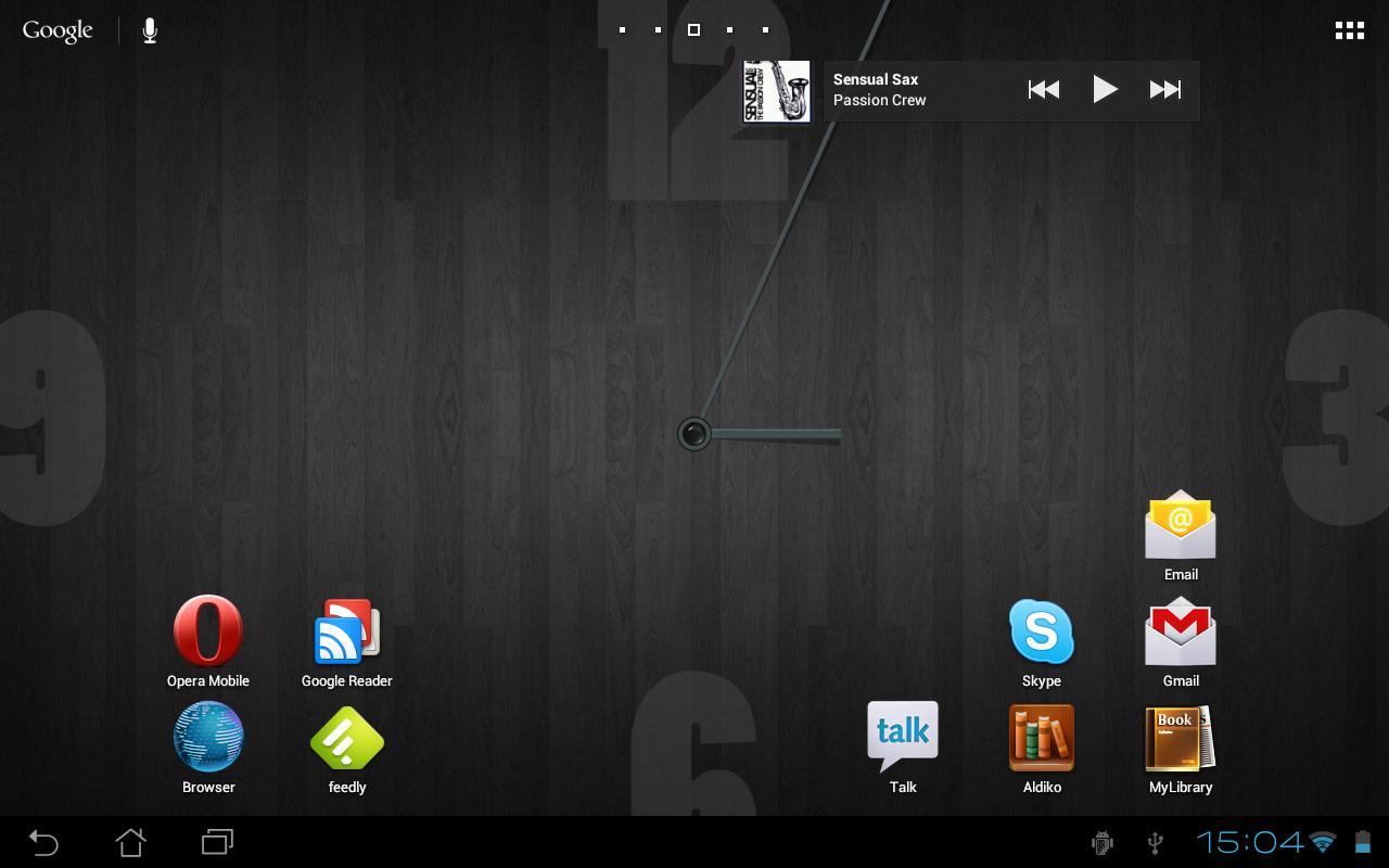 Wall Clock HD- screenshot