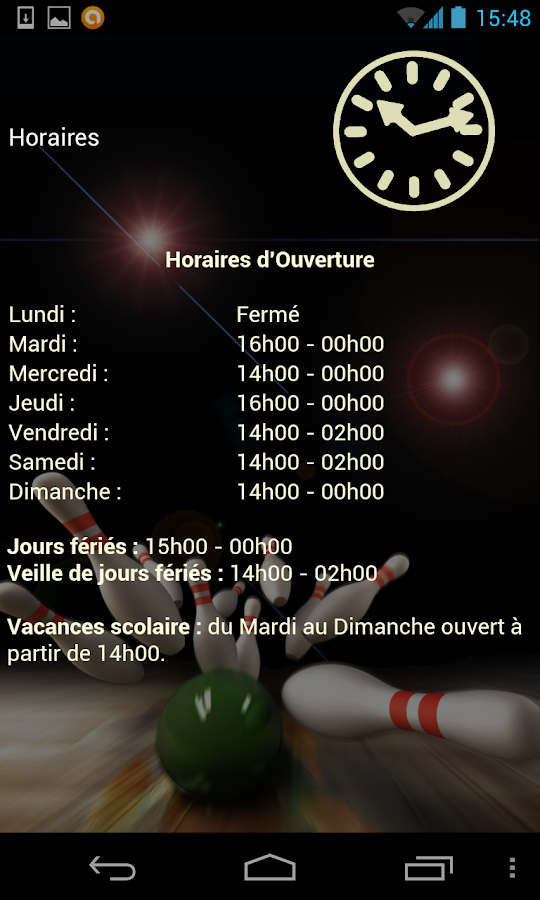 Happy Bowling Contrexéville - screenshot