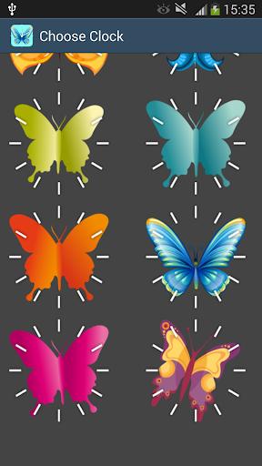 免費個人化App|50蝴蝶時鐘|阿達玩APP
