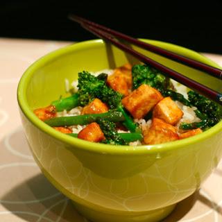 Tofu Broccoli (& Asparagus)