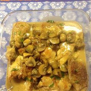 Petite Blanquette de Poulet a l'Estragon (Tarragon Chicken)