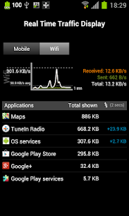 3G Watchdog - Data Usage - screenshot thumbnail