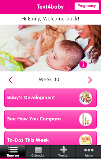 Text4baby: Pregnant New Moms