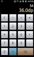 Screenshot of Dip Calculator