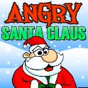 Angry Santa Claus icon