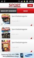 Screenshot of Sport/Voetbalmagazine