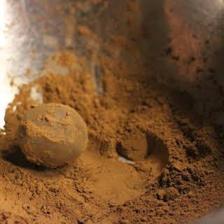 Chocolate Ganache Truffles.