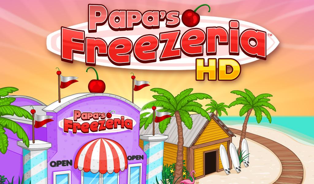 Papa's Freezeria HD- screenshot