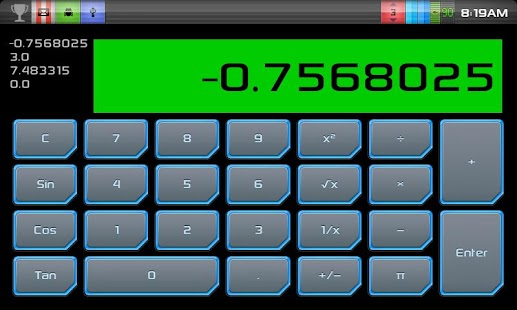 Simple RPN Calculator - screenshot thumbnail