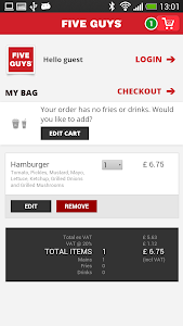 Five Guys UK screenshot 3