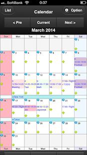 Schedule Calendar SUKECARE