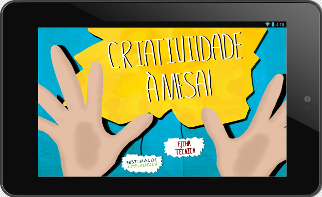 "EBOOK ""CRIATIVIDADE À MESA""- screenshot"