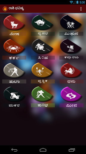 Kannada Horoscope: Daily Rashi