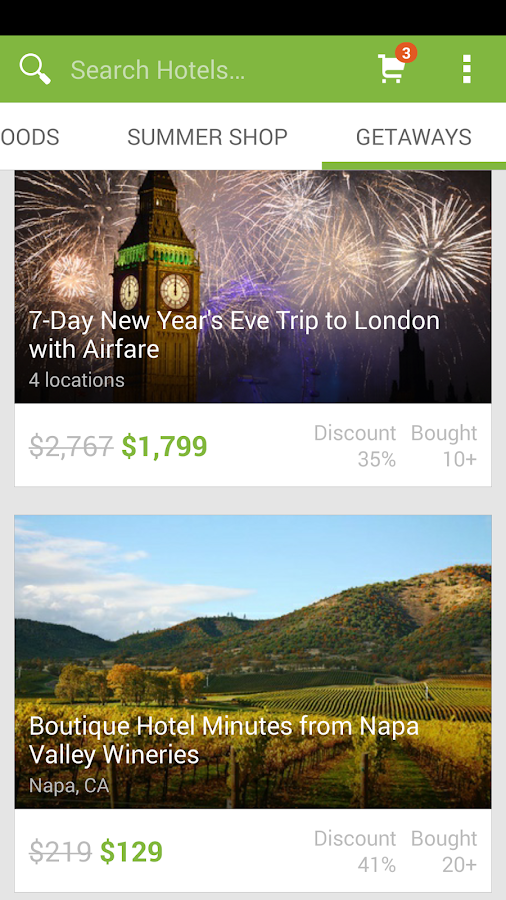 Groupon - Daily Deals, Coupons - screenshot