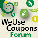 WeUseCoupons Coupon Forum logo