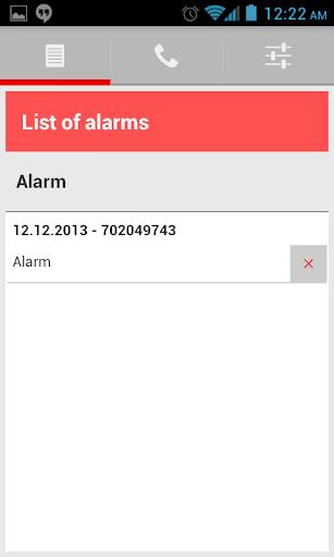 Firefighters - SMS alarm