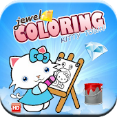 Jewel Town Coloring