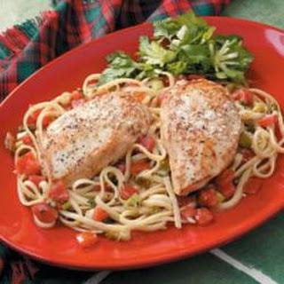 Chicken Scampi Pasta Recipes.