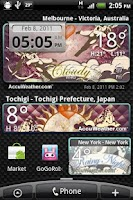 Screenshot of 9s-Weather Theme+(Valentines)