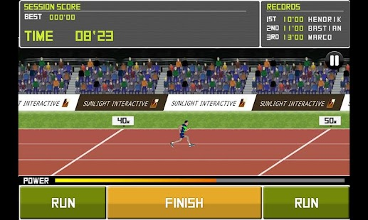 Deluxe Track&Field Screenshot 1