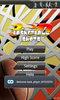 Screenshot of 3D Basketball Shot