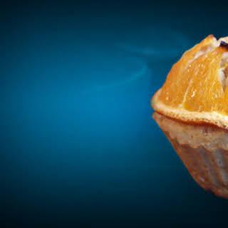 Orange Vanilla Whey Protein Muffins.