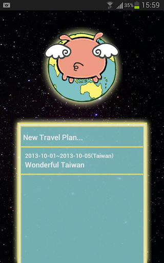Piggy Travel Plan