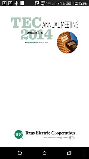 TEC Annual Meeting 2014
