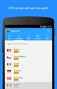 Vpnster - VPN for Android- screenshot thumbnail
