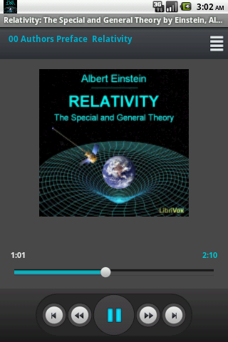 Audiobook Relativity NO ADS