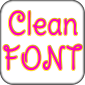 Clean font Pack for Galaxy