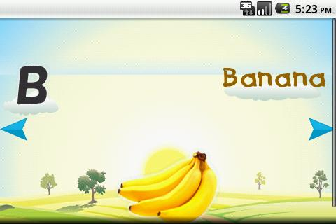 Kids Fruits Alphabets Musical - screenshot