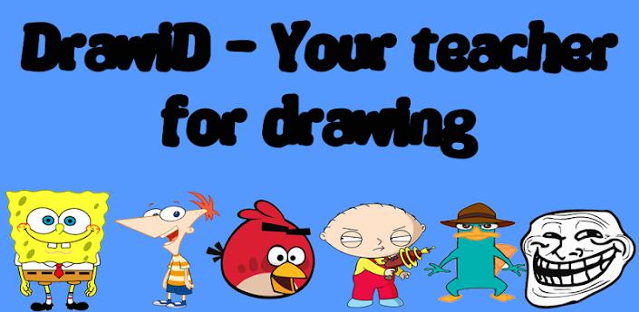 DrawiD-Learn to draw