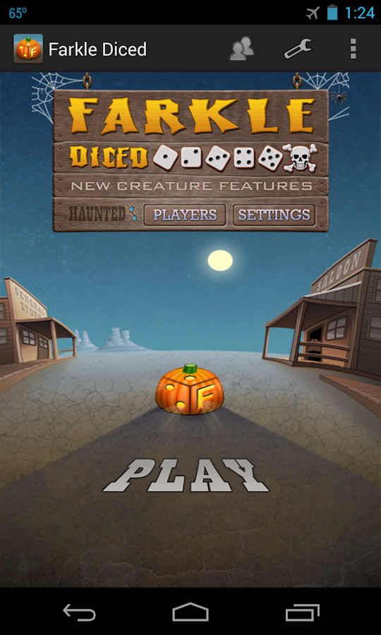 Farkle Diced - Halloween- screenshot