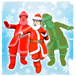 Selfie dancing santa booth 3d android apps on google play