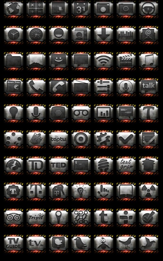 Industrial - Icon Pack- screenshot