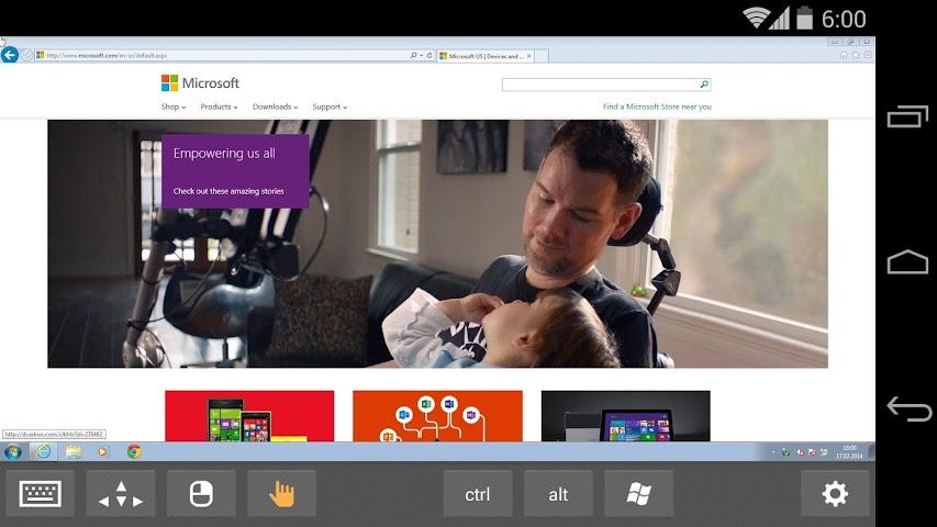 android Remotix VNC RDP Remote Desktop Screenshot 13