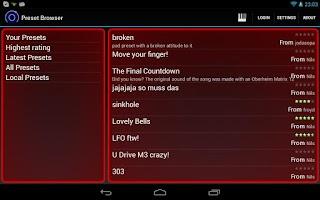 Screenshot of Heat Synthesizer Demo BETA