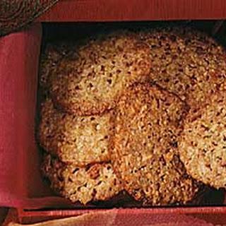 Orange-Almond Lace Cookies