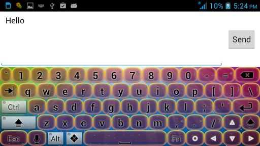 极光键盘主题