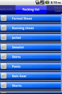 Checklist - screenshot thumbnail
