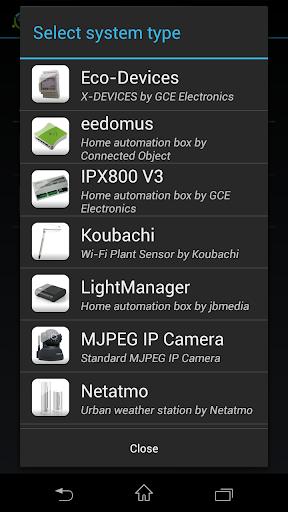 ImperiHome u2013 Smart Home & Smart City Management 4.0.5 screenshots 4