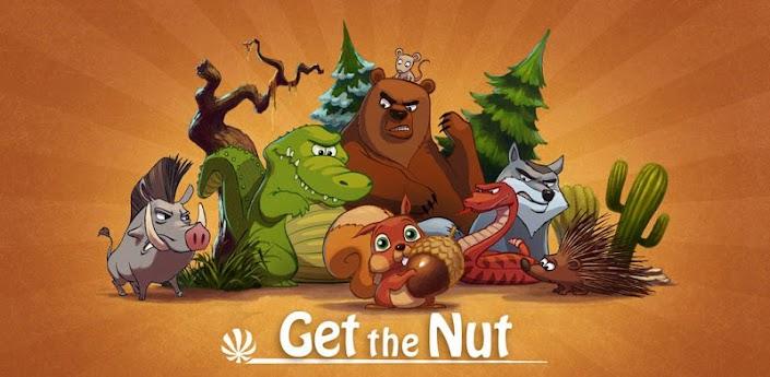 Get The Nut (Добраться до ореха) - новая красивая головоломка для андроид