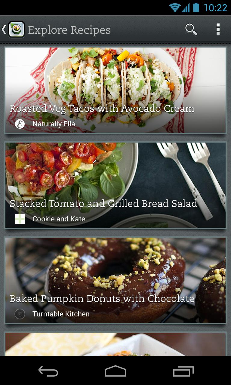 Evernote Food screenshot #11