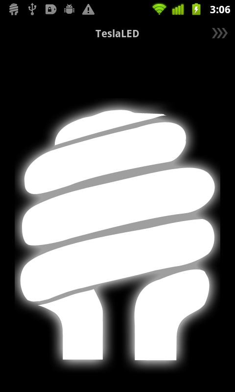 TeslaLED Flashlight Donate Screenshot 0