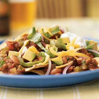 Vegetarian Chipotle Nachos.