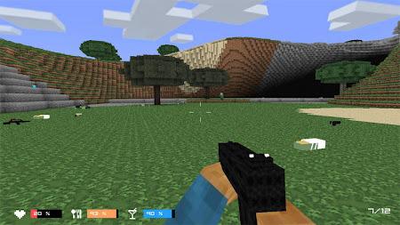 Cube Gun 3D : Zombie Island 1.0 screenshot 44149