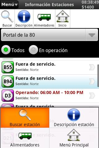 Rutas Transmilenio - screenshot